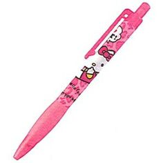 Kamio Hello Kitty Mechanical Pencil: Pink Leopard