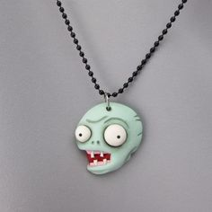 Picture of Zombie Polymer Clay Necklace