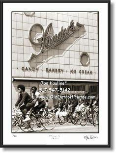 Sander's, Woodard Avenue, Detroit   SANDERS Detroit candy ice cream photo print - Jan Kaulins Photo Art ...
