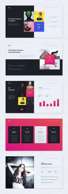 Drops Multipurpose & Creative Powerpoint Template  Get a modern Powerpoint Presentation that is beautifully designed and functional
