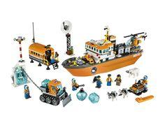 Lego City - 60062 - Le Brise-Glace Arctique: Amazon.fr: Jeux et Jouets