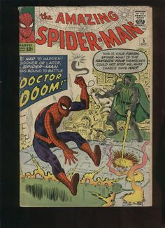 Amazing Spider-man #5 by Stan Lee and Steve Ditko part of the formula that made Marvel Great.