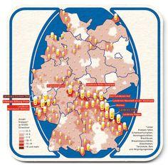 Kneipendichte in Deutschland
