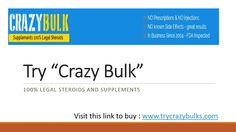 Try #crazybulk