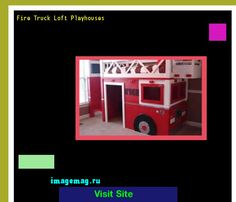 Fire Truck Loft Playhouses 194100 - The Best Image Search