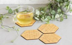 Products | Home Decor by Yano Designs - Designed & made with ♥ in Melbourne, Australia | Bamboo Coasters 4pk