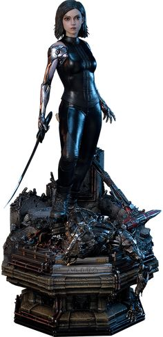 Gunnm alita figure - Alita: Battle Angel is a film visited by cyborgs found in the Iron Town dumpsite. This cyborg was taken and repaired b. Alita Movie, Angel Movie, Female Cyborg, The Centurions, Battle Angel Alita, Streaming Hd, Popular Movies, Sideshow Collectibles, The Best