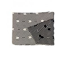 Blanc de Noir Geometric Throw / Casa Josef