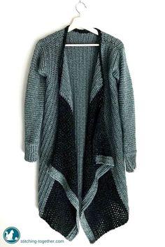 Kirstie Cardi - free crochet sweater patterns