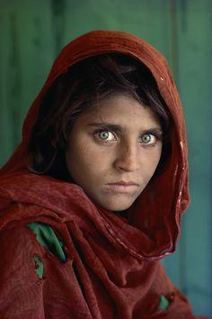 Steve McCurry: Afghanisches Mädchen