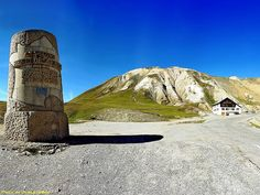 Col du GALIBIER - (05 - France ) - Monument Henri Desgrange -