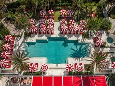 Pool life is the good life at this posh Miami Beach resort, where attendants cater to guests' every whim: from cleaning sunglasses to handing out carafes of lemon-infused water and complimentary snacks (curated daily by the hotel's chef, pastry chef, and bartender). They'll even wash your feet with a slow trickle of fresh water from a watering tin (we're not kidding).
