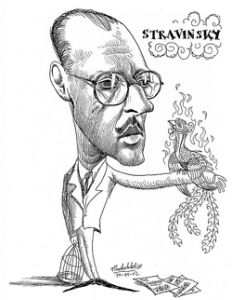 Stravinsky, Firebird, and a Rite of Spring Blitz! Decoupage Tins, Composers, Famous Faces, Caricatures, Classical Music, Famous People, Musicals, Adventure, Artwork