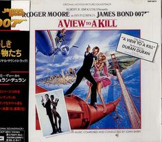For Sale - James Bond A View To A Kill Japan  CD album (CDLP) - See this and 250,000 other rare & vintage vinyl records, singles, LPs & CDs at http://eil.com