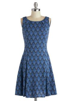 Be-Leaf What You See Dress, #ModCloth
