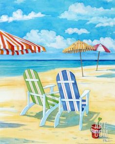 30805 Florida artist Paul Brent, often referred to as America's best known coastal artist, paints idyllic beach scenes in sunny watercolors. Inviting beach chairs, striped umbrellas, beach cottages, lighthouses, as well as still life paintings of nature and lovely collages, available as prints via Art.com. Plus, you can also find Paul Brent's beach art on …