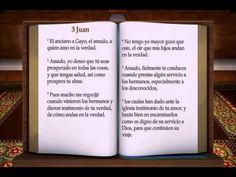 "LA BIBLIA "" 3 JUAN "" COMPLETO REINA VALERA NUEVO TESTAMENTO - YouTube"