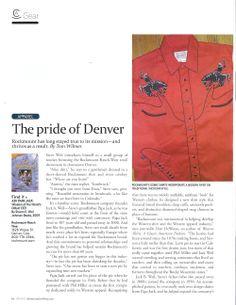 Rocmount Iconic snap-button shirts. Denver, CO