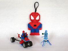 Spiderman, figurine Spiderman, deco Spiderman par IbelieveIcanfil on Etsy - Spiderman figure, Spiderman decoration, Spiderman ornament
