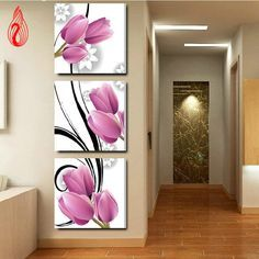 DIY Full Diamond Embroidery Flower triptych vertical version Round Diamond Painting Cross Stitch Kits Diamond Mosaic image du produit More from my DIY Diamètre Complet 1 and Get 1 Free CoupStained Glass Fish Cross