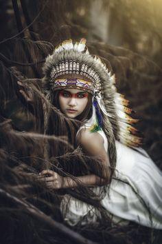 Native Girl by Akar Kayu on 500px