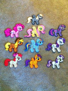 Whole Lotta Pony Bead Sprites! by prettypixelations
