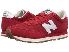 New Balance Classics - (Red/White) Men's Classic Shoes