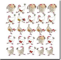DoodleDoo Personalised Charity Cards for all occasions - NOT just Christmas. minimum goes to Charity and FREE delivery. Chicken Drawing, Chicken Painting, Chicken Art, Bird Illustration, Illustrations, Christmas Fun, Christmas Cards, Decoupage, Crazy Bird