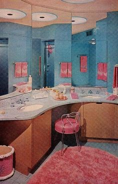 16 Best Pink And Blue Bathrooms Images