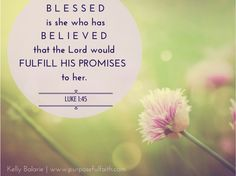 Do You Want to Be Blessed? - Purposeful Faith