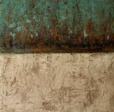 Mischtechnik auf Leinwand 55x55x5cm Ostsee-Galerie Timmendorfer Strand -verkauft-