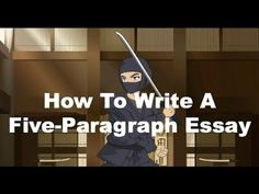▶ Writing Ninjas: How To Write A Five-Paragraph Essay - YouTube