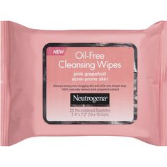 Neutrogena Oil-Free Pink Grapefruit Cleansing Wipes. I have heard great feedback on the Burt's Bee's as well so I will try & compare the two.