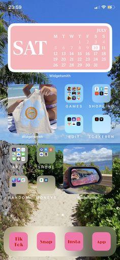 Iphone Homescreen Wallpaper, Iphone Background Wallpaper, Snapchat Nicknames, Sat 2, Ios Phone, Phone Themes, Iphone Design, Iphone Hacks, Ios App