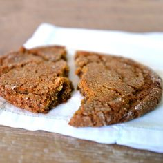 Ginger Molasses Cookie | This classic sweet and spicy cookie is a staff favorite.