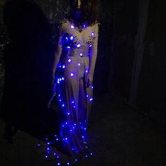 #cyberfashion#cyberelegant#moda#lights#photoshoot#mycreation#oumaimakanoui