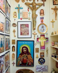 crucifixes, Icons, Catholic home decor