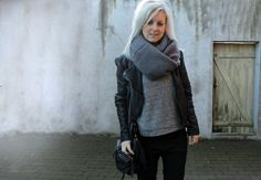 Black Swan - Black Swan Sweat and Black Swan Scarf. # Comfy and Chic #