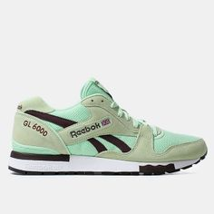 37b8035194aed Reebok Gl 6000 Shoes - Sea Glass henna Classic Leather