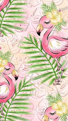 Pin by elaine cutshaw on flamingos in 2019 fond ecran, flama Flamingo Wallpaper, Flamingo Art, Flamingo Pattern, Summer Wallpaper, Pink Flamingos, Flamingo Illustration, Cute Wallpaper Backgrounds, Cute Wallpapers, Iphone Wallpaper