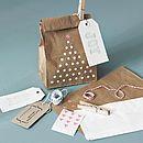 paper bag gift wrap pack by the original pop up shop   notonthehighstreet.com