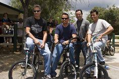 Woody Itson, Martin Aparijo, Eddie Fiola -