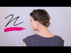 NORIE-videó – Halszálkafonásos frizura lépésről lépésre