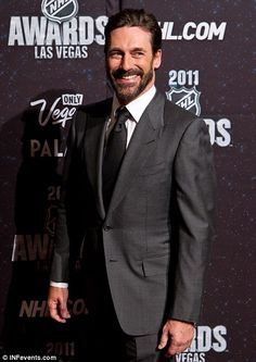 Money maker: Jon Hamm has extended his contract to star in Mad Men for three more seasons