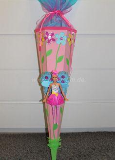 Schöne Schultüte für Barbie-Fans - NeLuMum