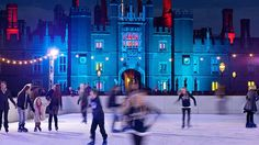 Ice Skating at Hampton Court