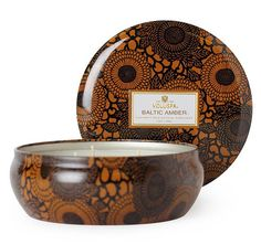 Voluspa Baltic Amber 3-wick Candle