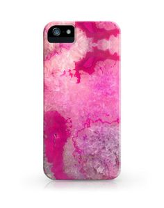 crystal agate phone case by julia kostreva (if i owned a phone, i would totes get this case)