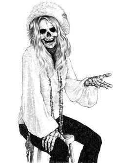 Muertos famosos > Janis Joplin