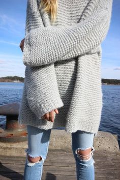 Fashion, Knits Inspiration, Clothing, Closets, Maria Skappel, Style Wear Adornment, Knits Sweaters, Comfy, Chunky Knits